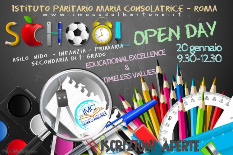 Open Day 20/01/2018